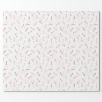 Pointe Schuh-Muster Geschenkpapier