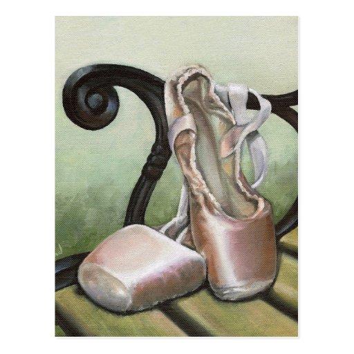Pointe Schuhe Postkarten