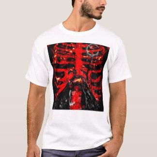 {POISONLAND} Rippen-Käfig-ANGEPASSTES Shirt