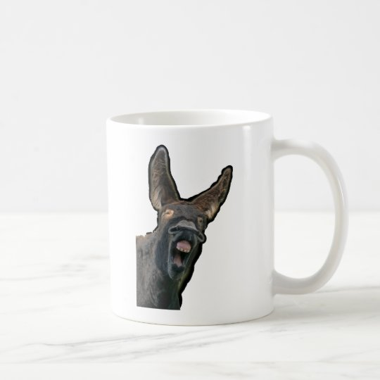 Poitou-Esel Kaffeetasse