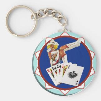 Poker-Chip Las Vegas Gallone Schlüsselanhänger