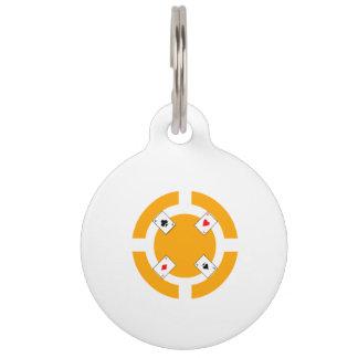 Poker-Chip - Orange Tiermarke