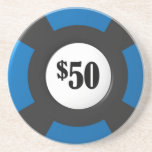 Poker-Chip-Untersetzer