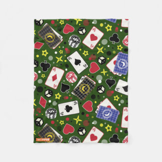 Poker-Druck Fleecedecke