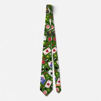 Poker-Druck Individuelle Krawatte