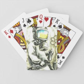 Poker-Gesichts-Extrem Spielkarten
