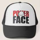 Poker-Gesichts-Hut! Truckerkappe