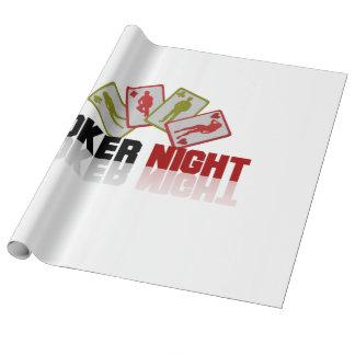 Poker-Kasino Geschenkpapier