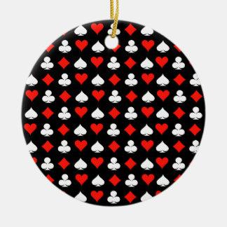 Poker Keramik Ornament
