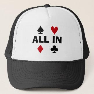 Poker-Süchtiger Truckerkappe