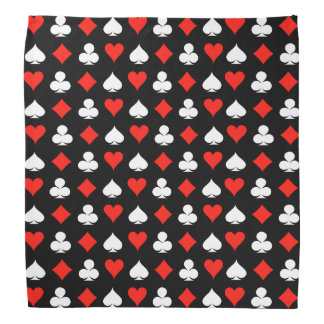 Poker-Symbole Kopftuch