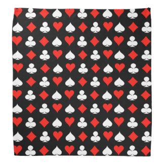 Poker-Symbole Kopftücher