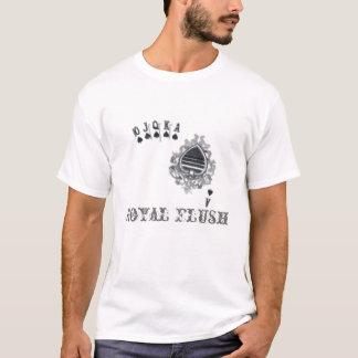 Poker-T - Shirt des königlichen Errötens