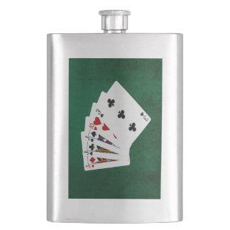 Poker übergibt - drei einer Art - Jack Flachmann