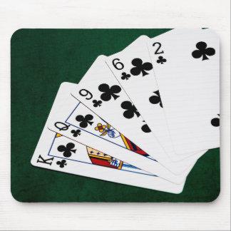 Poker übergibt - eben - Verein-Anzug Mauspads