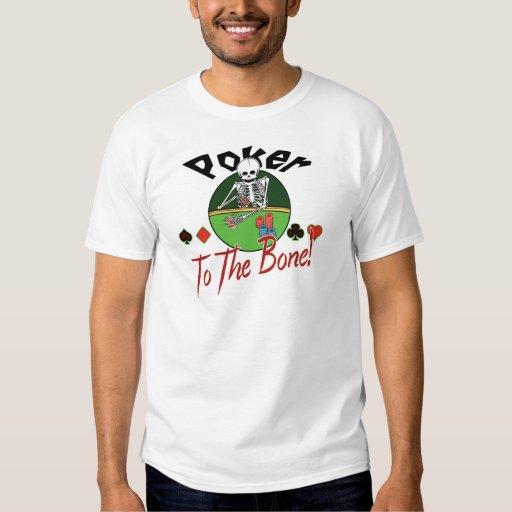 Poker zum Knochen! Tshirts