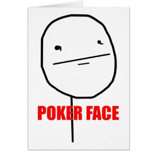 Pokergesichtsinternet meme karten