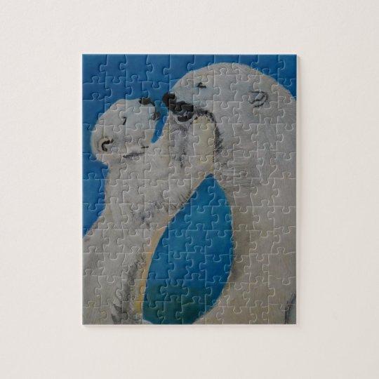 Polar Bear - Kiss Mummy Puzzle