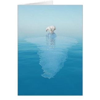 Polar betreffen Sie Eisberg-Anmerkungs-Karte Karte