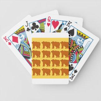 Polar betrifft Gold Bicycle Spielkarten