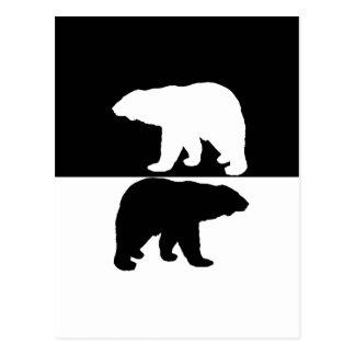 Polarbear Postkarte