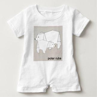 polare Unebenheiten Baby Strampler