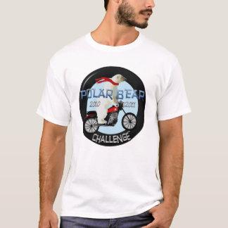 Polarer Bärn-Herausforderungs-Motorrad-Shirt T-Shirt