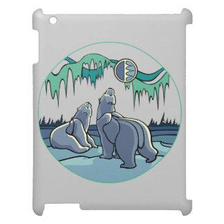 Polarer Bärn-Kunst iPad Fall-Tier-Kunst-iPad Hülle Für iPad