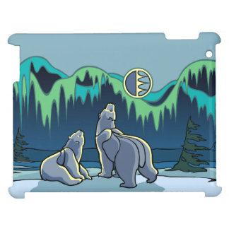 Polarer Bärn-Kunst iPad Fall-Tier-Kunst-iPad Hüllen Für iPad