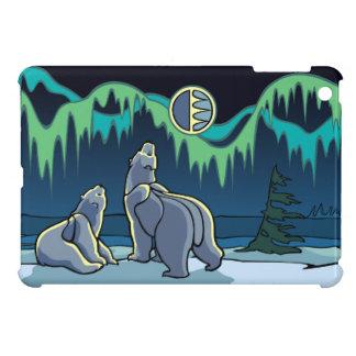 Polarer Bärn-Kunst iPad iPad Mini Cover