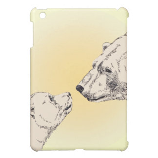 Polarer Bärn-Kunst iPad Minifall-Bärn-Kunst-Hüllen iPad Mini Hülle