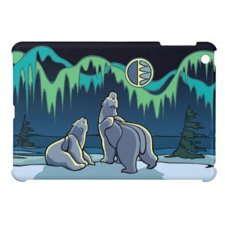 Polarer Bärn-Kunst iPad Minifall-Tier-Kunst-Hüllen iPad Mini Cover