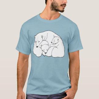 Polarer Bärn-Kunst-T - Shirt plus