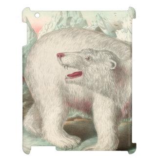 Polarer Bärn-Vintager Druck iPad Hülle