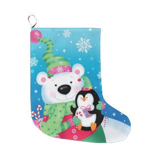 Polarer Freund-Strumpf Großer Weihnachtsstrumpf
