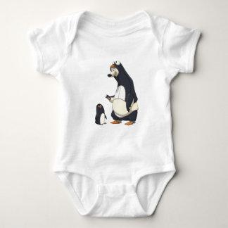 Polarer Pinguin Baby Strampler