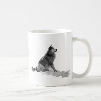 Polarstern der Eskimohund Kaffeetasse