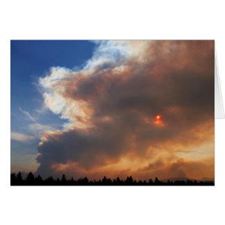 Pole-Nebenfluss-Feuer, Schwestern, Oregon Karte