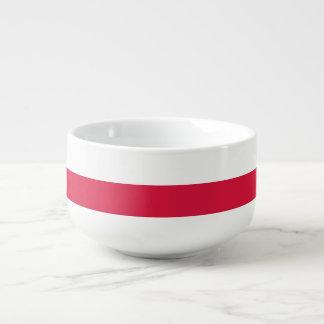 Polen-Flagge Große Suppentasse