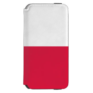Polen-Flagge Incipio Watson™ iPhone 6 Geldbörsen Hülle