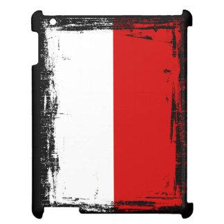 Polen-Flagge iPad Hülle