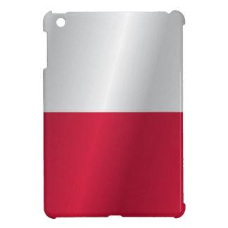 Polen-Flagge iPad Mini Cover