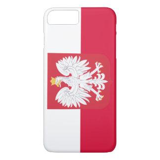 Polen-Flagge iPhone 8 Plus/7 Plus Hülle