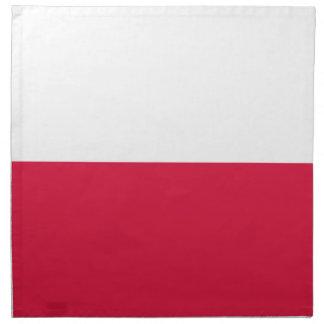 Polen-Flagge Serviette