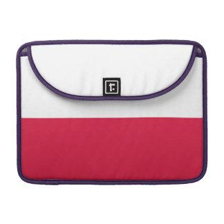 Polen-Flagge Sleeve Für MacBook Pro