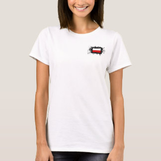 Polen-Flagge T-Shirt