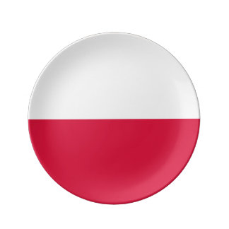 Polen-Flagge Teller