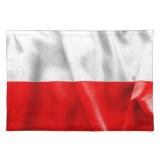 Polen-Flagge Tischset