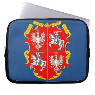 Polen-Litauen Commonwealth (Aufstieg Rosen) Laptopschutzhülle