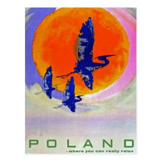 Polen Postkarte